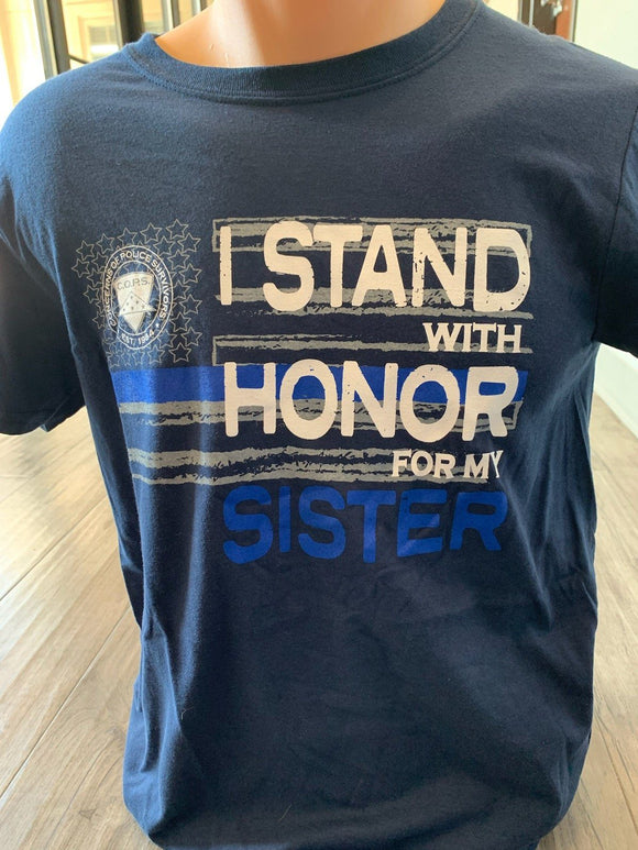 Honor My Sister NPW COPS SHOP S