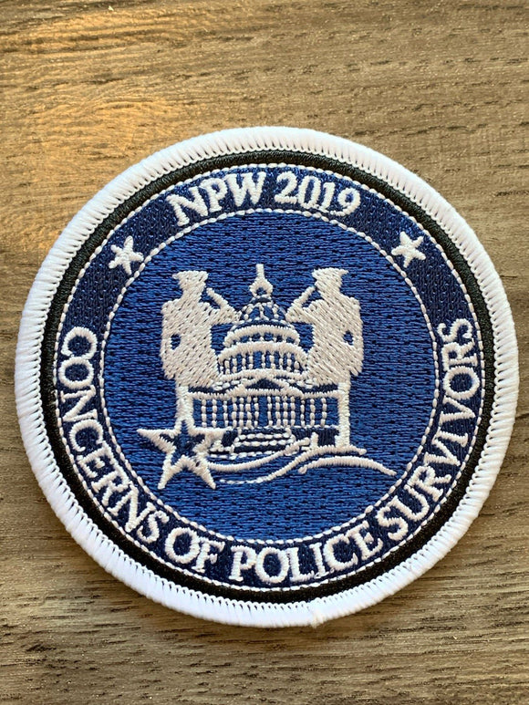 2019 NPW Patch Gifts COPS SHOP