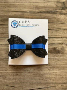 Glitter Mini Bow Kids Aunt Bean's Bows