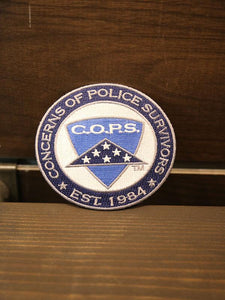 "C.O.P.S. Logo 3.5"" Patch Gifts COPS SHOP"