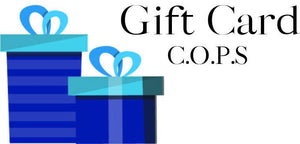 COPS SHOP E-GIFT CARD Gifts COPS SHOP