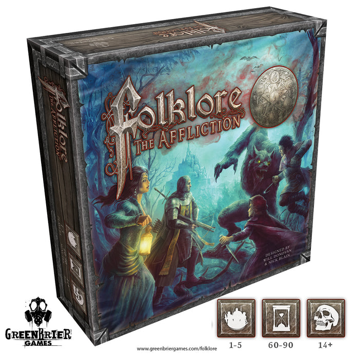 FL31 - Folklore 2E: The Affliction (Core Game) 2E