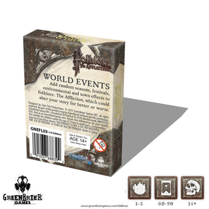 FL03 - Folklore - World Events (Card Pack) (2E)