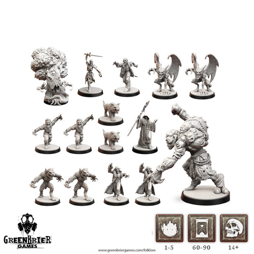 FL06 - Folklore: Grey (Miniatures pack)