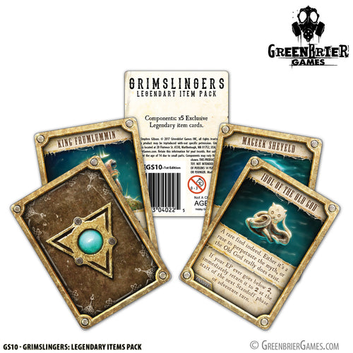 GS10 - Grimslingers: Legendary Items Pack
