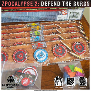 ZB01 - Zpocalypse 2: Defend the Burbs
