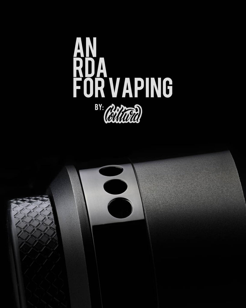 An RDA For Vaping - loaded