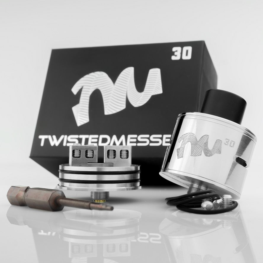 TWISTEDMESSES 30MM RDA (unloaded)