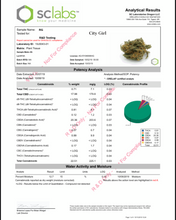 Load image into Gallery viewer, [NEW] City Girl - 17.98% CBD, Grapes & Cherry, Sativa, Uplifting, Outdoor Grown