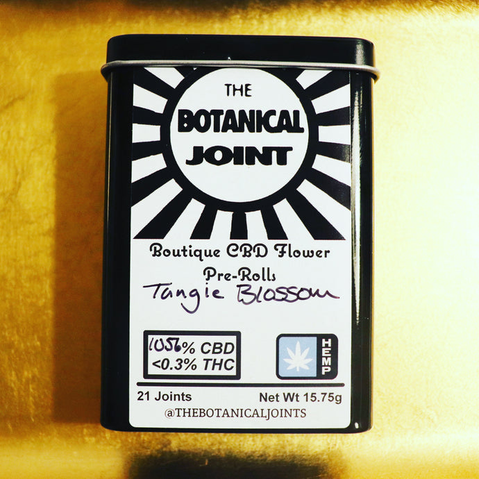Tangie Blossom CBD Hemp Cigarettes - 10.56%, 2.32% Total Terpenes CBD, Floral, Orange, Haze, Sativa, Uplifting, Greenhouse Grown