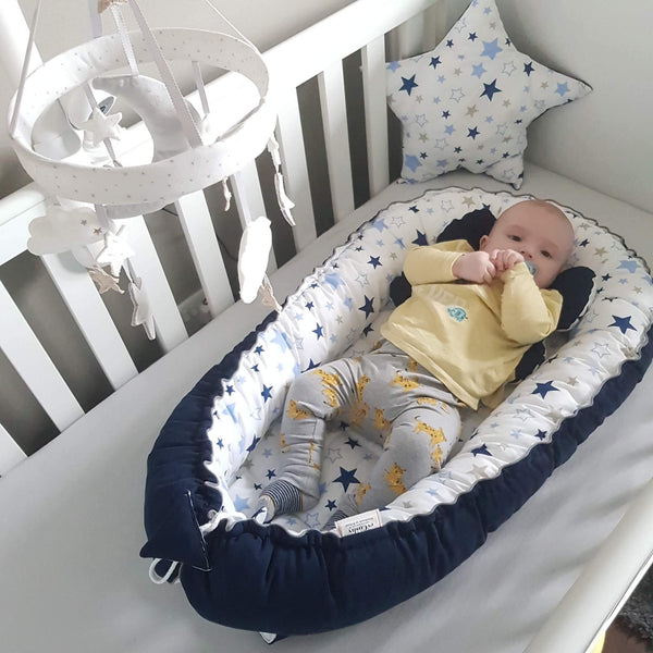 We recommend these beautiful baby sleeping pods, CE Safe