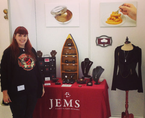 Beautiful Bespoke Silver and Costume Handmade Jewellery by Emma Swailes
