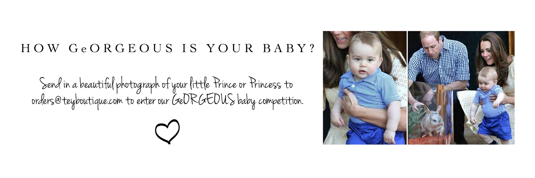 Prince George 1st Birthday | WIN 1st Birthday Gifts Competition