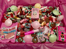 Load image into Gallery viewer, 2kg LOL Surprise Sweets Box with Chocolate, Pick n Mix, Personalised Retro Sweets, Birthday, Valentine's Gift, Free UK Delivery, Free Gift Box