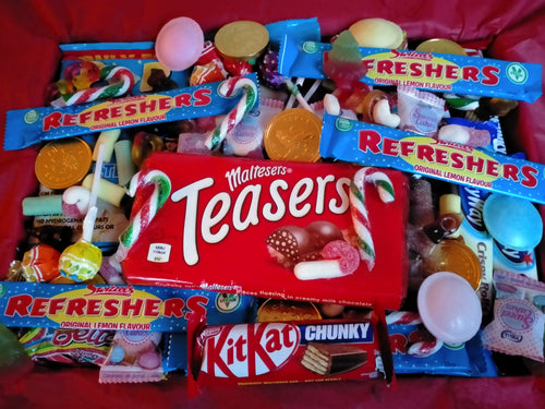 1kg, 2kg Easter Sweets Box, Malteasers Chocolate, Retro Pick n Mix Sweets Box, Birthday Gift, Lockdown Gift