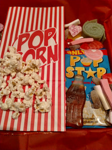 1kg, 2kg Easter Movie Night Sweets Box, Retro Pick n Mix Sweets Box, Birthday Gift, Lockdown Gift
