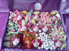 Load image into Gallery viewer, 1kg, 2kg Easter Percy Pig Sweets Box, Retro Pick n Mix, Personalised Sweets Box, Birthday Gift, Lockdown Gift