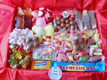 Load image into Gallery viewer, 1kg, 2kg Easter Sweets Box, Malteasers Chocolate, Retro Pick n Mix Sweets Box, Birthday Gift, Lockdown Gift