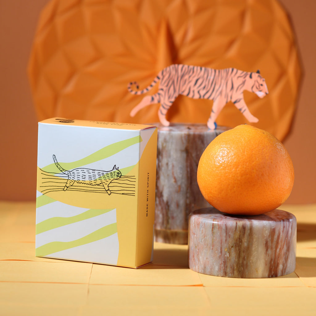 TANGERINE BASIL<br>body soap
