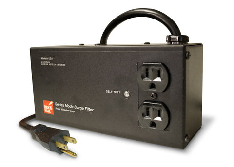 Two-Outlet Audio Surge Protector