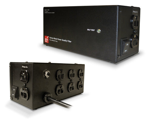 Eight-Outlet Audio Surge Protector