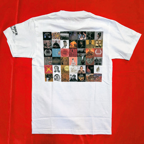Beatrock Music 10-Year Anniversary Albums Shirt