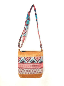 Wax Canvas Crossbody Bag - WC001