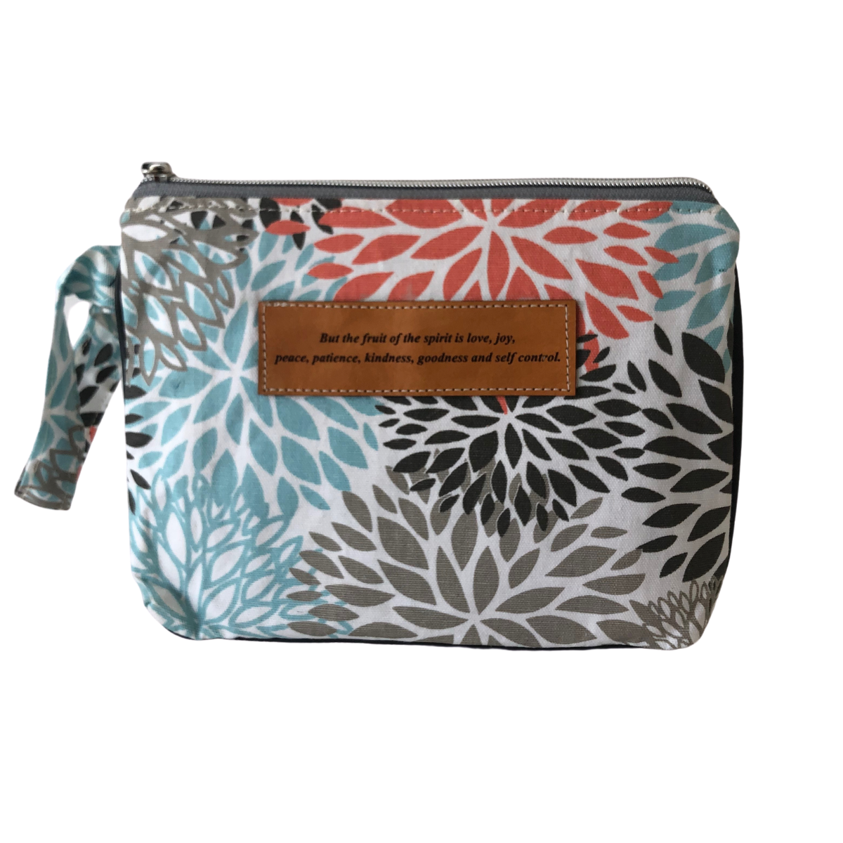 Leather Wristlet Clutch - Fruit of the Spirit
