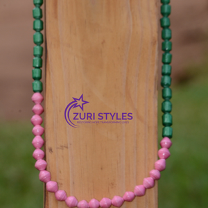 Recycled Paper Bead Necklace - Brilliant Necklace