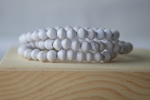 Recycled Paper Bead Bracelet - Paradise