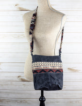Load image into Gallery viewer, Wax Canvas Crossbody Bag - WC005
