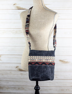 Wax Canvas Crossbody Bag - WC005