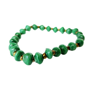 Recycled Paper Bead Bracelet - Considerate