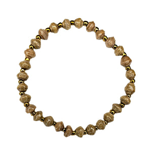 Recycled Paper Bead Bracelet - Cultivate