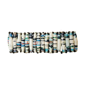 Recycled Paper Bead Bracelet - Sincere