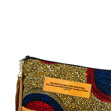 Load image into Gallery viewer, Leather Wristlet Clutch - Blessed is She