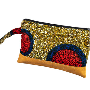 Leather Wristlet Clutch - Blessed is She