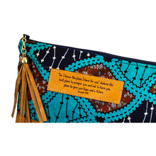 Load image into Gallery viewer, Leather Wristlet Clutch - Jeremiah 29:11