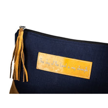 Load image into Gallery viewer, Leather Wristlet Clutch - Joy of the Lord
