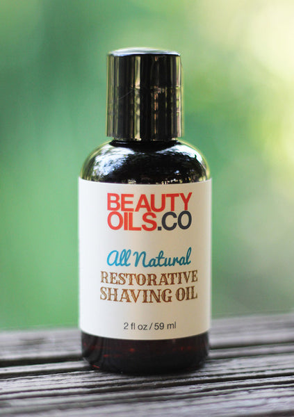 Natural Shave Oil Recipe