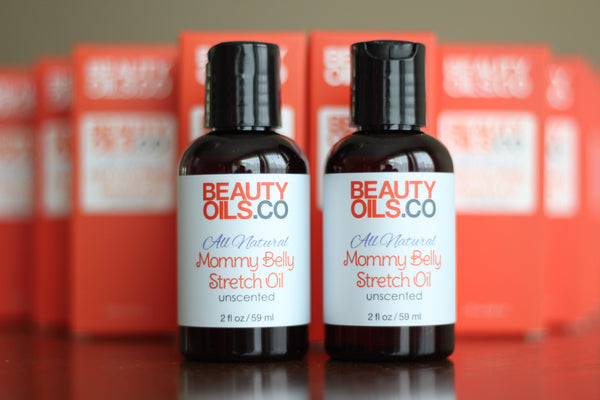 Vegan Plant-based Mommy Belly Stretch Oil