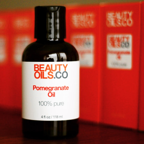 BEAUTYOILS.CO 100% Pure Pomegranate Seed Beauty Oil for Face & Skin