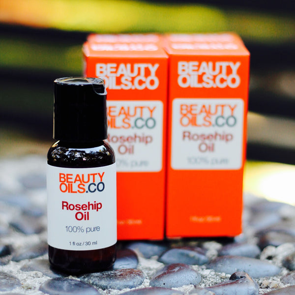 Rosehip seed face beauty oil for dry skin