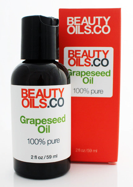Pure Grape Seed Oil For Face And Skin Beautyoils Co