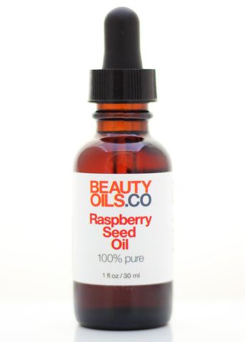 Raspberry Seed Oil - 100% Pure Cold Pressed Virgin