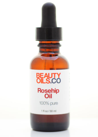 Rosehip Seed Oil - 100% Pure Cold Pressed - Healing Face and Dry Skin Moisturizer (1 fl oz) Unrefined Anti Aging Scar Treatment - Rosa Mosqueta