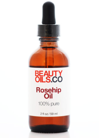 Rosehip Seed Oil - 100% Pure Cold Pressed - Healing Face and Dry Skin Moisturizer - Unrefined Anti Aging Scar Treatment - Rosa Mosqueta