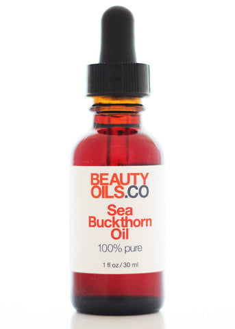 Sea Buckthorn Berry Oil - 100% Pure Cold Pressed - Nourishing Dry Skin, Scar & Acne Skincare Treatment