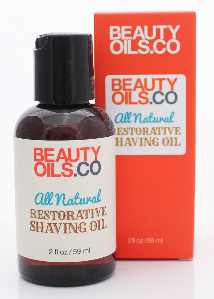 All Natural Restorative Shaving Oil - BEAUTYOILS.CO - Shave Oil