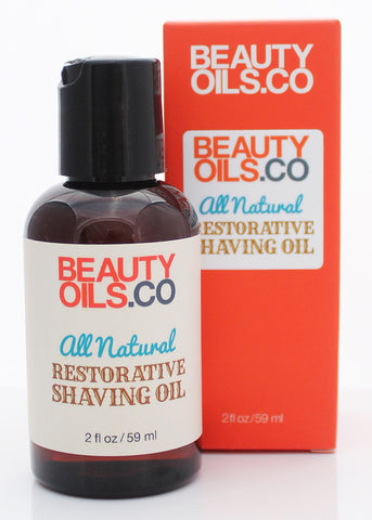 All Natural Restorative Shaving Oil